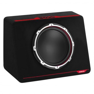 "BOSS® - 10"" Bass Series Single Vented Passive 600W Subwoofer Enclosure"