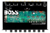 BOSS® - 4-Band Graphic Equalizer with Remote Subwoofer Level Control