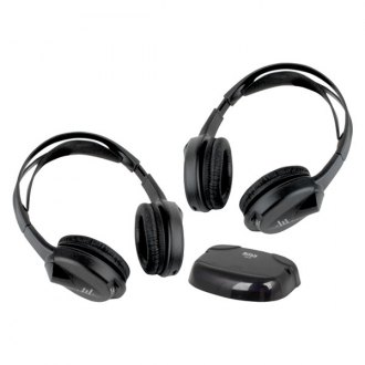 BOSS® - 2 Sets of Wireless Headphones with IR Transmitter