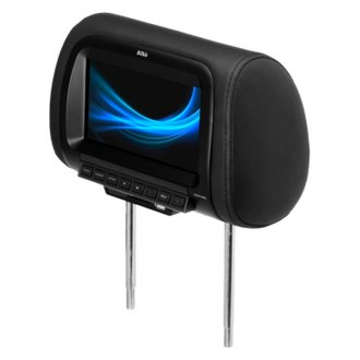 "BOSS® HIR7UBL - Black Headrest with 7"" Widescreen TFT Video Monitor with USB input"