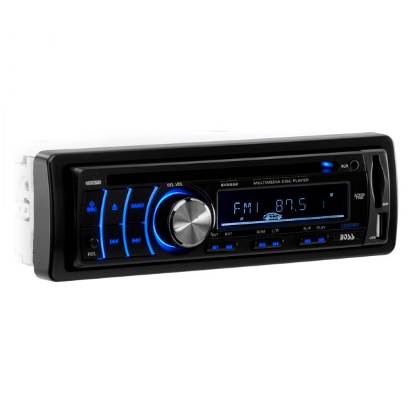 BOSS® - Single DIN DVD/CD/AM/FM/MP3/WMA Stereo Receiver