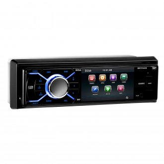 "BOSS® - Single DIN DVD/CD/AM/FM/MP3/WMA Receiver with 3.2"" Display"