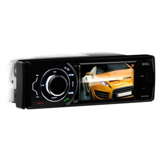"BOSS® - Single DIN DVD/CD/AM/FM/MP3/WMA Receiver with 3.6"" Touchscreen Display"