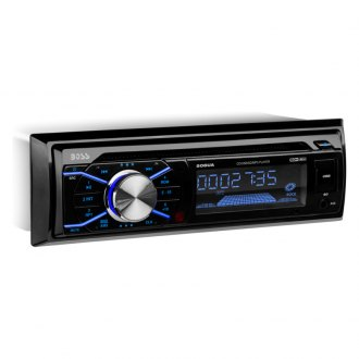 BOSS® - Single DIN CD/AM/FM/MP3/WMA Receiver with Remote