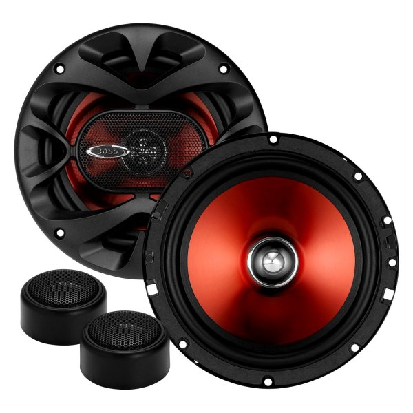 "BOSS® - 6-1/2"" 2-Way Chaos Exxtreme Series 350W Component Speakers"