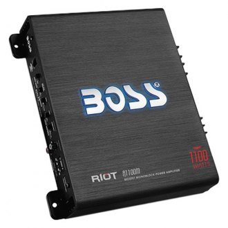 BOSS Audio® - Riot Series Class AB Mono 1100W Amplifier