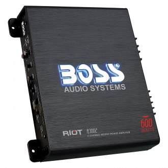 BOSS Audio® - Riot Series Class AB 2-Channel 600W Amplifier