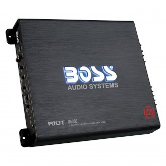 BOSS Audio® - Riot Series Class AB 2-Channel 1200W Amplifier