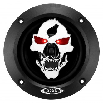 "BOSS® - 4"" 2-Way Phantom Skull Series 250W Coaxial Speakers"