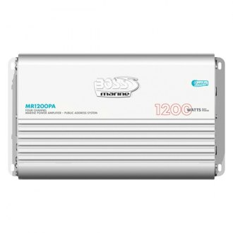 BOSS® - Marine Class AB 4-Channel 1200W Amplifier