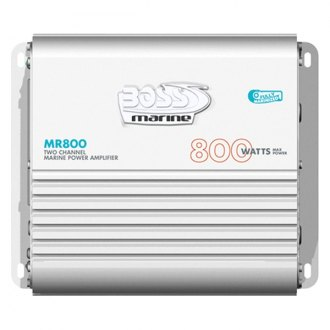 BOSS® - Marine Class AB 2-Channel 800W Amplifier