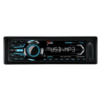 BOSS® - Black Marine MP3/WMA/AM/FM/Bluetooth Stereo Receiver