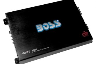 BOSS® - Riot Series Class AB Mono 2000W Amplifier