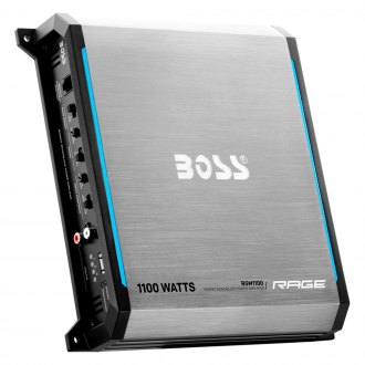 BOSS® - Rage Series Class AB 1100W Mono Amplifier