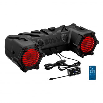 "BOSS® - 6-1/2"" Black Off Road 450W Bluetooth Sound System with Multicolor Illumination"