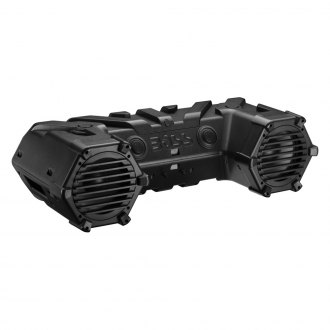 "BOSS® - 8"" Black ATV 700W Bluetooth Speakers with Dual LED Light Bar"