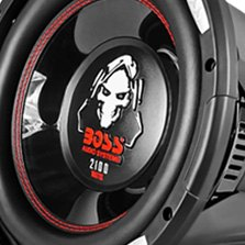 BOSS Phantom Series Low Profile 1200W 4 Ohm SVC Subwoofer