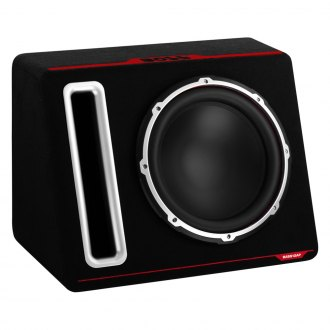 "BOSS® - 12"" Bass Series Single Vented Powered 600W Subwoofer Enclosure"