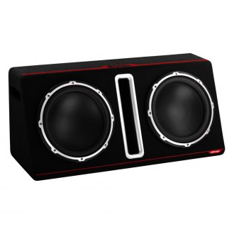 "BOSS® - 12"" Bass Series Dual Vented Powered 1600W Subwoofer Enclosure"