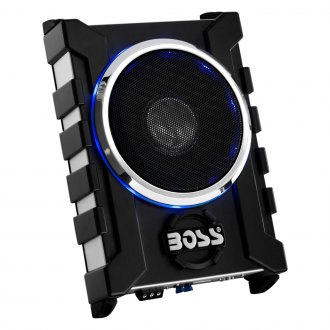 "BOSS® - 8"" Bass Series Single Low Profile Sealed Powered 1300W Subwoofer Enclosure"