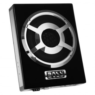 "BOSS® - 10"" Bass Series Single Low Profile Sealed Powered 1400W Subwoofer Enclosure"