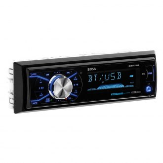 BOSS® - Single DIN AM/FM/MP3/WMA Receiver with Bluetooth, Detachable
