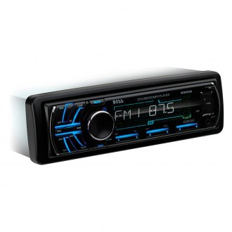 BOSS® - Single DIN CD/AM/FM/MP3 Stereo Receiver with Remote