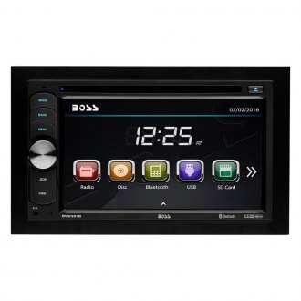 "BOSS® - Double DIN AM/FM/MP3/WMA Mechelss Receiver with 6.2"" Touchscreen TFT Monitor, Built-In Bluetooth, Pandora Radio Support and License Plate Backup Camera"