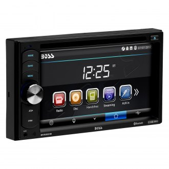 "BOSS® - Double DIN DVD/CD/AM/FM/MP3/WMA Receiver with 6.2"" Touchscreen Display Built-In Bluetooth and Pandora Radio Support"