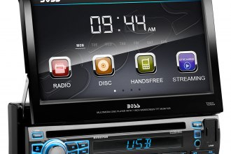 "BOSS® - Single DIN DVD/MP3/CD/AM/FM Receiver with 7"" TFT Touchscreen Monitor and Built-In Bluetooth"