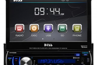 "BOSS® - Single DIN DVD/CD/MP3/AM/FM Receiver with 7"" Touchscreen TFT Monitor and Built-In Bluetooth"