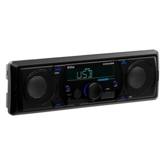 BOSS® - Single DIN AM/FM/MP3 Digital Media Receiver with Built-In Bluetooth