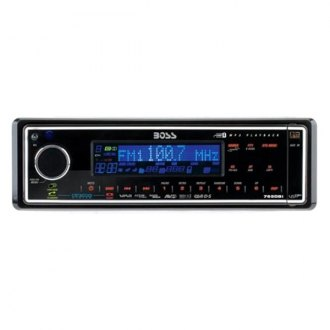 BOSS® - Single DIN AM/FM/MP3 Digital Media Receiver with Internal iPod Docking Station