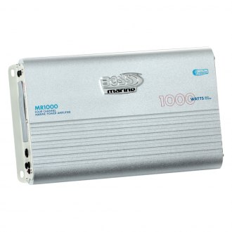 BOSS® - Marine Class AB 4-Channel 1000W Amplifier