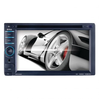 "BOSS® - Double DIN In-Dash DVD Receiver with 6.2"" Touchscreen Monitor and iPodControl"