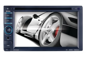 "BOSS® - 6.2"" Double DIN In-Dash DVD Receiver with iPodControl"