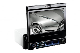 "BOSS® - Single DIN DVD/CD Receiver with Flip Out 7"" TFT Touchscreen Monitor"