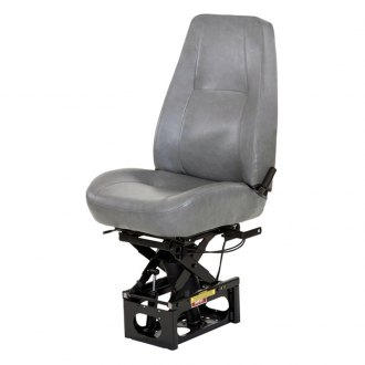 Bostrom Seating® - Baja Hipro 915 Mid-Back Grey Vinyl Truck Seat