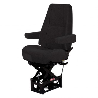Bostrom Seating® - Hipro 915 Air Lumbar Mid-Back Dual Armrests Mordura Cloth Truck Seat