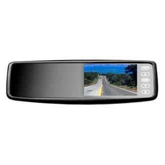 "BOYO® - Rear-View Mirror with 4.3"" LCD Monitor and Bluetooth"
