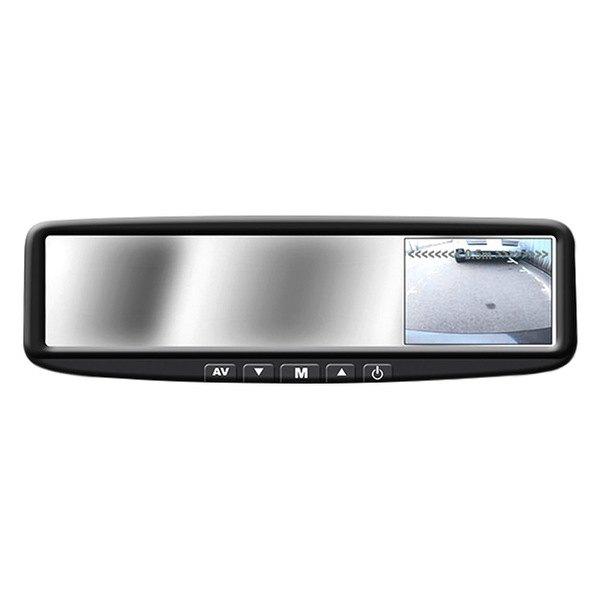 "BOYO® - 4.3"" Digital TFT LCD Rear-View Mirror Monitor w/o Built-In Bluetooth and Compass"