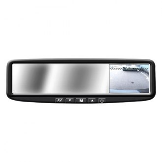 BOYO® - 4.3 Digital TFT LCD Rear-View Mirror Monitor w/o Built-In Bluetooth and Compass