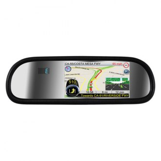 "BOYO® - Rear-View Mirror with 5"" TFT-LCDMonitor"