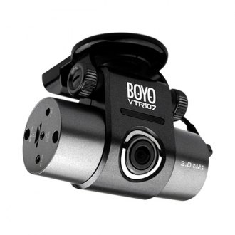 BOYO® - 110 Degrees Dash Camera with GPS, G-sensor and RTC