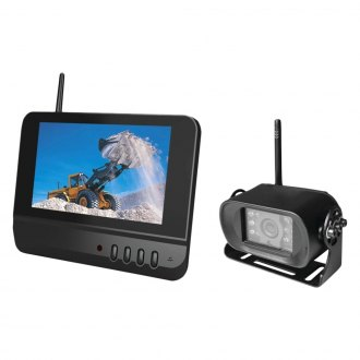 "BOYO® - Wireless Night Vision Rear View Camera and 7"" LCD TFT Monitor System"