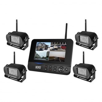BOYO® - Bracket Mount Wireless Rear View System