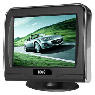 "BOYO® - 3.5"" Rear View Digital LCD TFT Monitor"