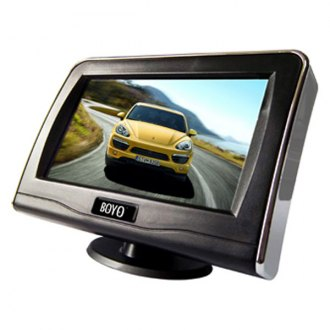 "BOYO® - 4.3"" Standalone Rear View Digital LCD Color Monitor with Speaker"