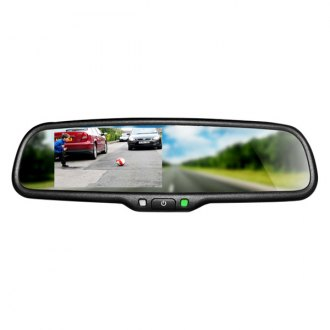 "BOYO® - OE Style Rear View Mirror with 4.3"" LCD Monitor"