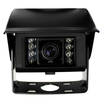 Boyo® - Adjustable Surface Mount Rear View Camera with Night Vision